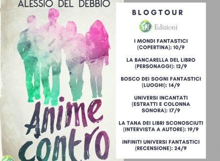 Blogtour 'Anime Contro': quinta tappa – Intervista all'autore.