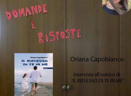 Intervista a Oriana Capobianco – autrice de 'Il riflesso di te in me'