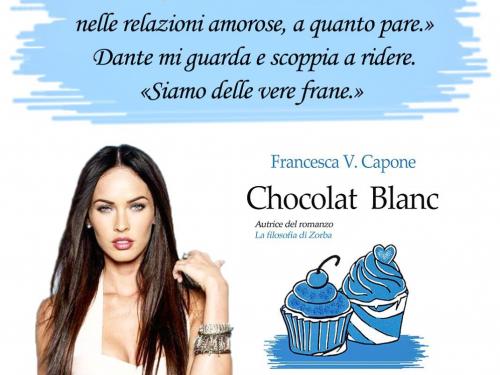 Intervista a Clio di 'Chocolat Blanc' e di 'Scommetto che mi ami' di Francesca V. Capone